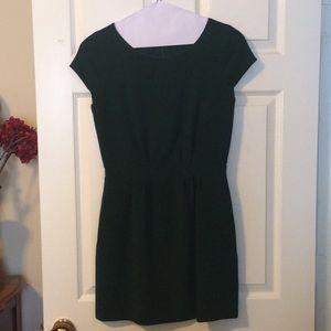 Chic emerald dress